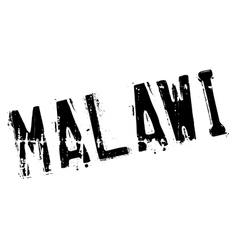 Malawi stamp rubber grunge vector