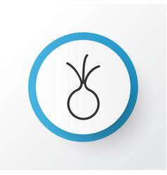 Onion icon symbol premium quality isolated garlic vector