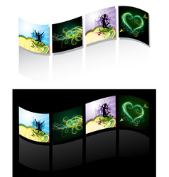 illustrated design strip vector image vector image