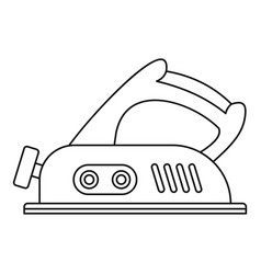 Jack plane icon outline vector