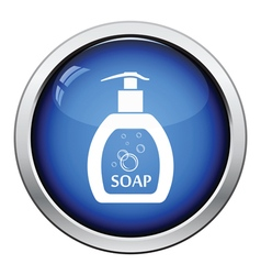 Liquid soap icon vector image vector image