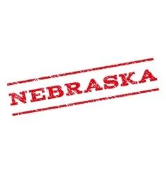 Nebraska watermark stamp vector