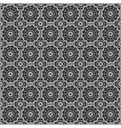 seamless circle pattern vector image vector image