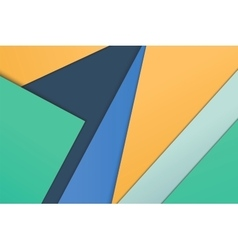 unusual modern material design vector image vector image