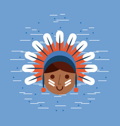 usa native american image vector image vector image