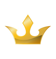 Royalty crown symbol vector