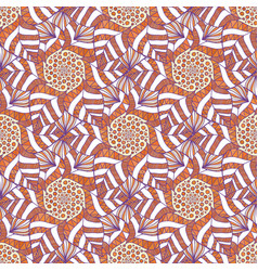 Ornamental indian pattern autumn background for vector