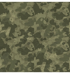 Military camouflage seamless pattern grunge and vector