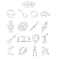 Professional collection of icons and elements The vector image vector image