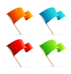 Set of flags Icons vector image