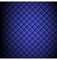 Shiny fabric rippled texture blue color silk vector