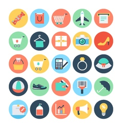 Shopping Icons 2 vector image