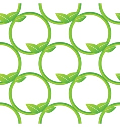 Net of stalks pattern vector