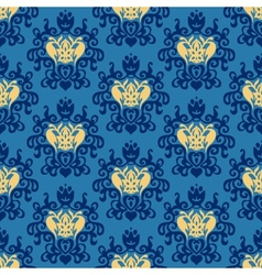 Damask royal seamless patter vector