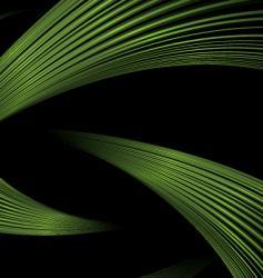 Green strand vector