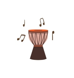 National brazilian drum vector