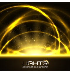 Background with bright flares vector