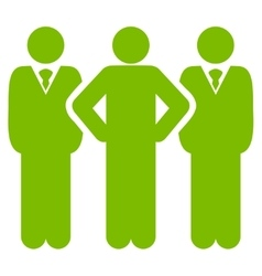 Team icon from Business Bicolor Set vector image