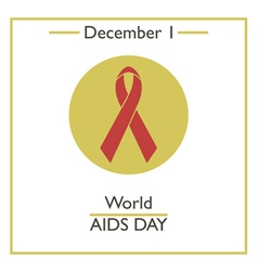 Aids day vector