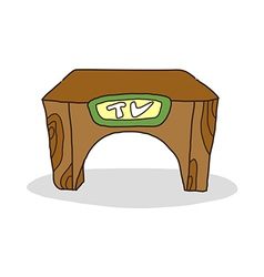 icon Table vector image vector image
