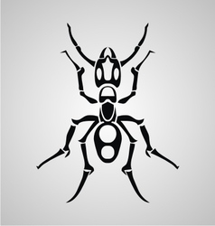Tribal ant vector