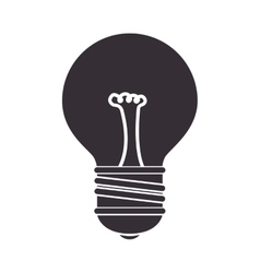 Bulb light idea icon vector