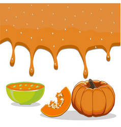 the soup vector image