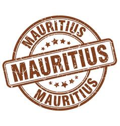 Mauritius stamp vector