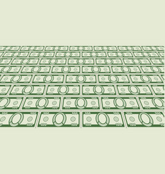 abstract currency background vector image vector image