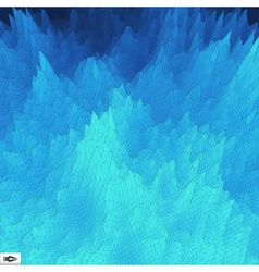 Grid background mosaic 3d abstract texture vector