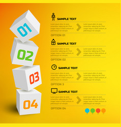 Infographic design concept vector