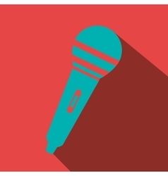 microphone icon design vector image vector image