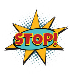 Stop comic word vector