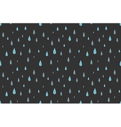 Rain seamless pattern gray vector