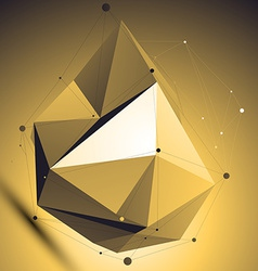 3d abstract colorful technology perspective vector