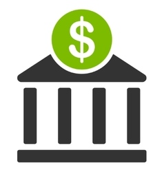 Bank icon from commerce set vector