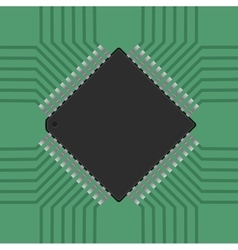 A microcontroller cpu processor vector