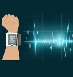 Blood Pressure vector image vector image