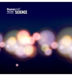 Bokeh lights vector image