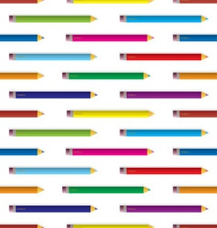 colour pencil background vector image vector image
