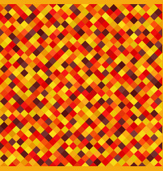 Diamond pattern seamless background autumn vector