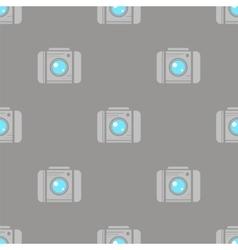 Digital Camera Seamless Pattern vector image