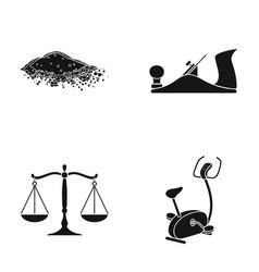 Equipment justice nature and other web icon in vector