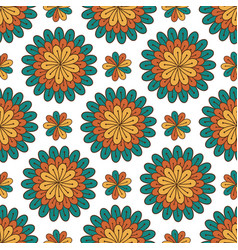 floral seamless pattern modern background with vector image vector image