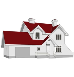 House cottage vector