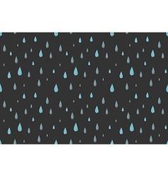 Rain seamless pattern gray vector