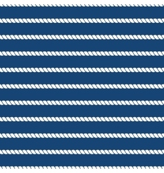 Striped nautical ropes bright seamless background vector