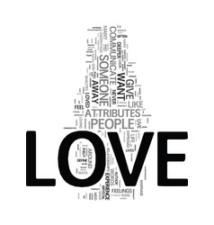 You can have love that never ends text word cloud vector