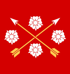 Flag of nerke is a province in south central vector