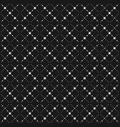 minimalist seamless pattern simple geometric grid vector image vector image
